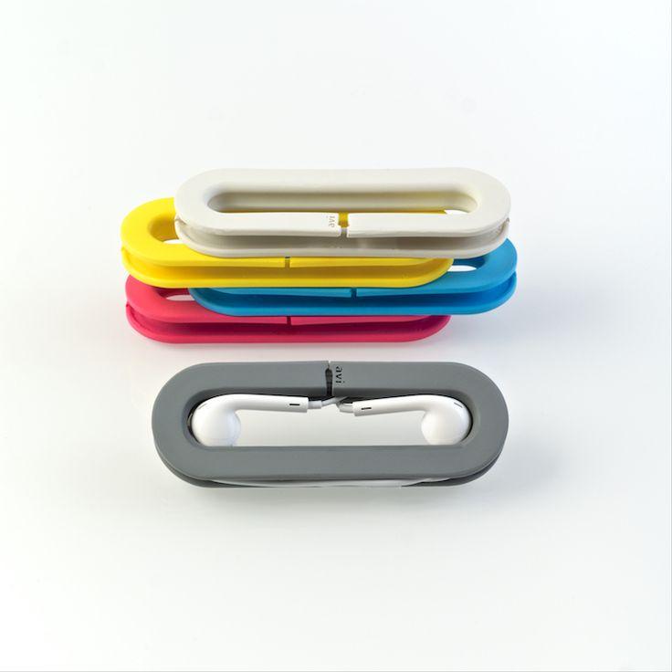 Avi-001 Echo™ - the Smart-Spool™ for earbuds & EarPods