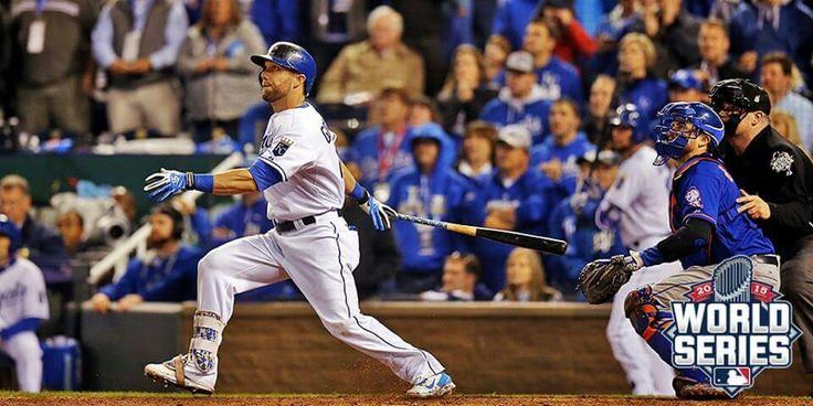 Way to go Gordie! Game 1 Mlb players, Kc royals, World