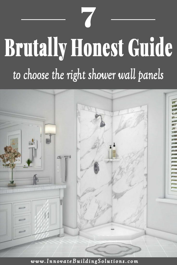 A Brutally Honest Guide To Choose The Right Shower Wall Panels Shower Wall Panels Shower Wall Wall Paneling Diy