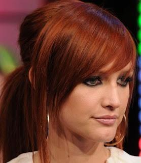 Pretty red hair - Ashlee Simpson