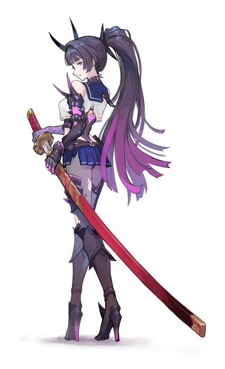 Anime Rabbit Sword Anime Animesensuais Rabbit Sword In 2020 Anime Warrior Anime Characters Character Art