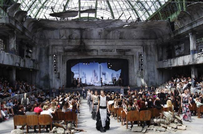 Chanel aw 2013/2014 - Karl Lagerfeld jest niezawodny!