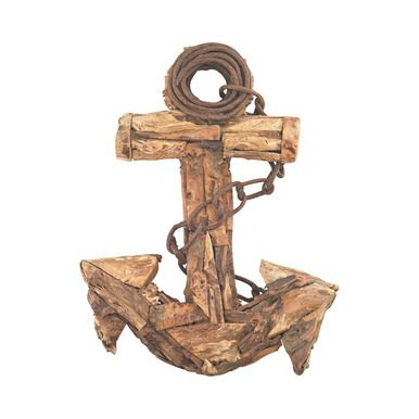 Sterling Industries Islamorada 23-Inch Driftwood Anchor