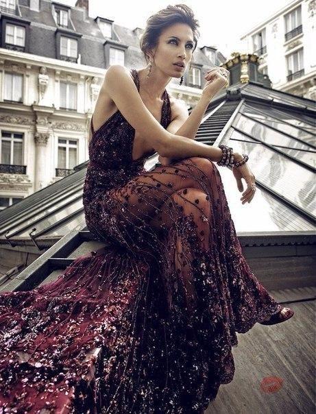 """Шикарные платья потрясающего винного цвета """"Марсала"""" ❤"""