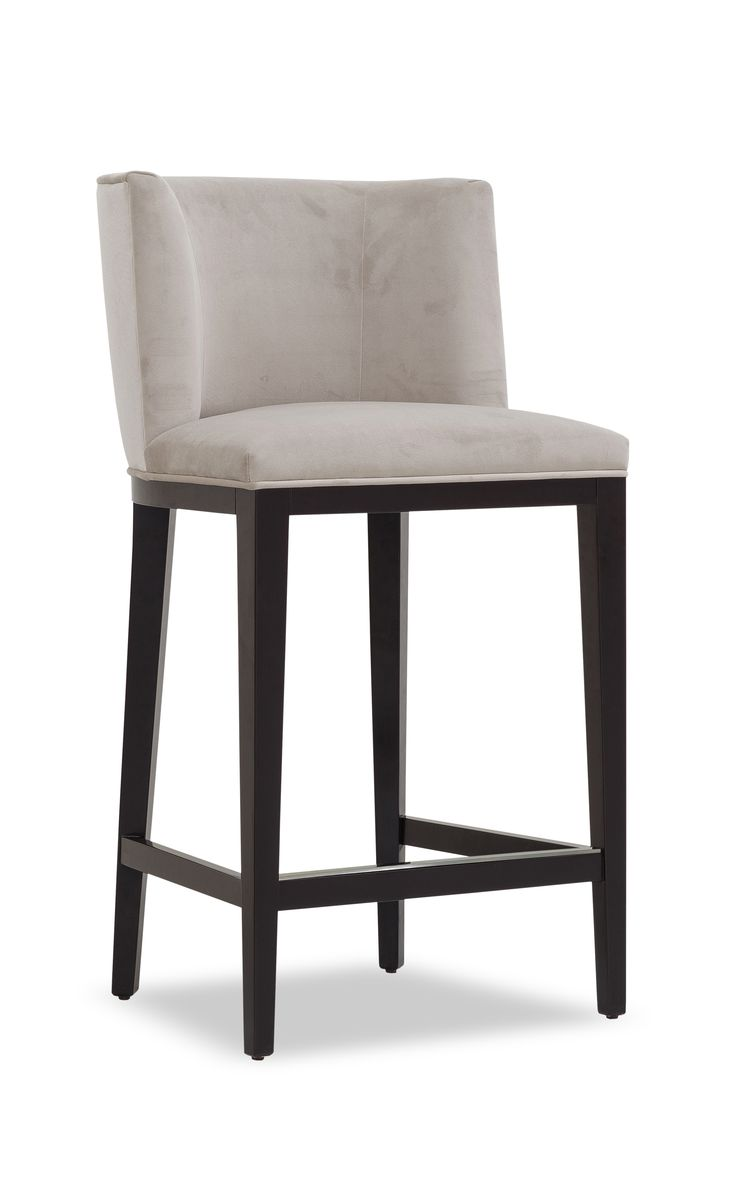 The bestselling Alfred bar stool sports a sleek and versatile form. The curved back and padded seat ensure comfort while the solid wood frame and show wood finish exude quality. Alfred is the perfect addition to both the commercial and domestic environments.