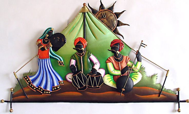 Traditional Indian Wall Hangings Adding Colors to Your Home  Decor ideas  Pinterest  Wall Hangings, Indian and Musicians