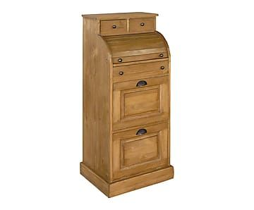 Secr taire naturel h130 meuble pinterest chalets - Secretaire meuble habitat ...