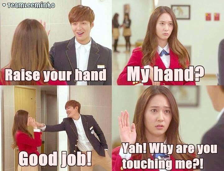 Minho, Krystal Jung ♡ #Kdrama // The #HEIRS