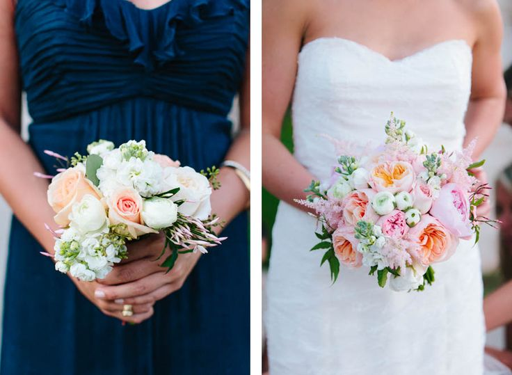 Bride & Bridesmaid Bouquets | Verbena Floral | Tara Welch Photography