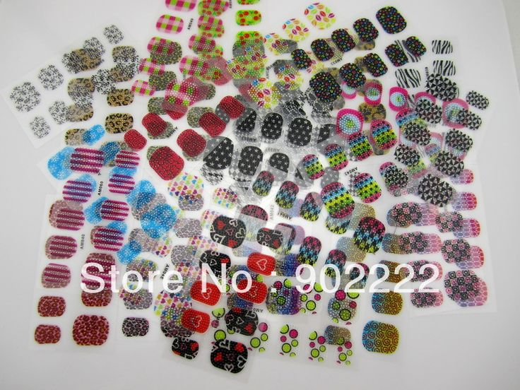 Fahion 3D nail stickers 3D beads decoration for nails 30 different styles mixed nail manicure 60 sheets/lot