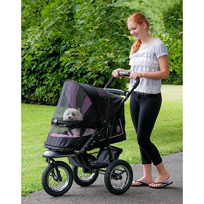 Pet Gear NoZip NV Pet Stroller for Cats/Dogs
