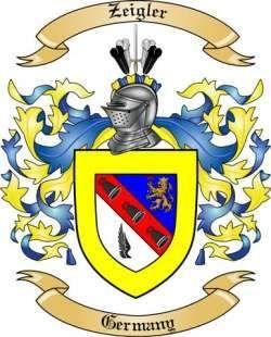 Zeigler family crest