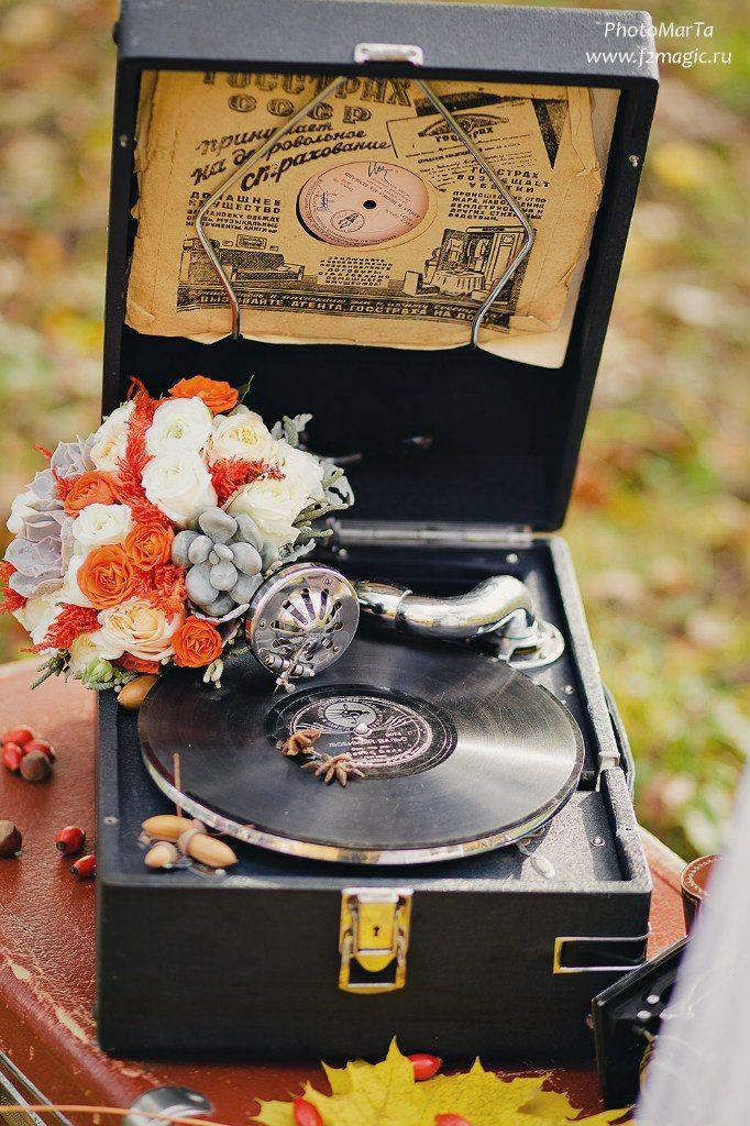 fall wedding photoshoot with a retro feel #fall #wedding #photo