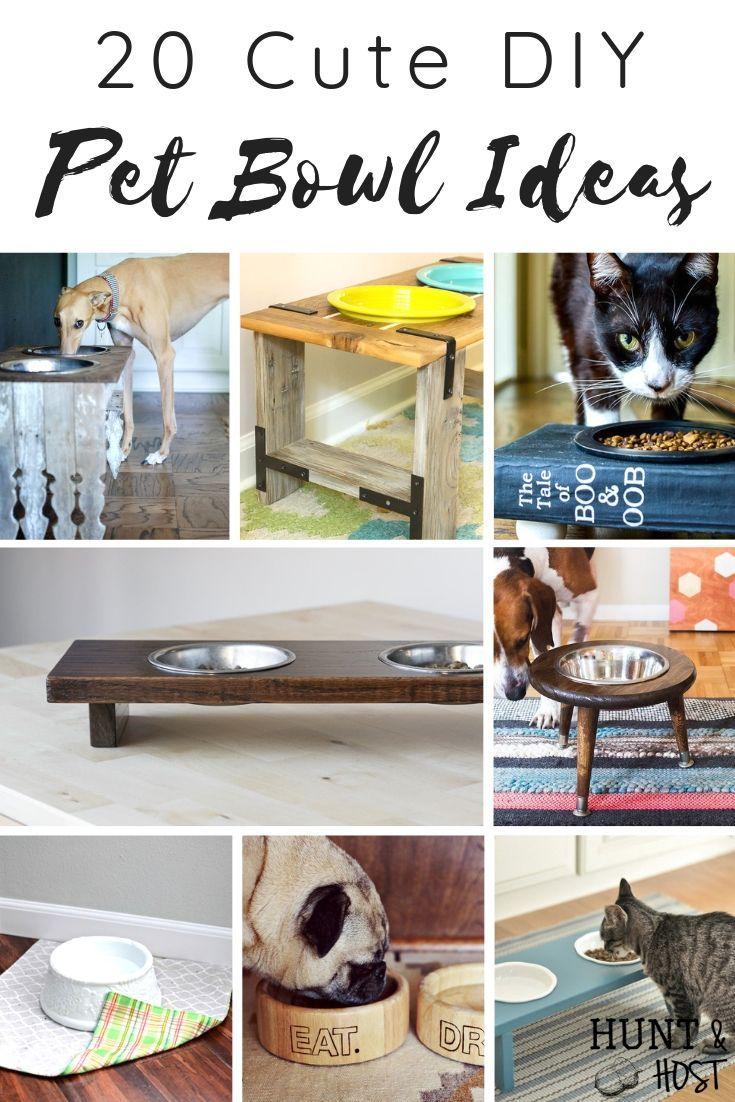 Cute Pet Bowl Ideas Dog Bowl Stand Pet Bowls