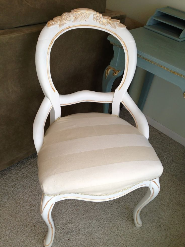 Thrifty Treasures: Fixing another chair to be glamorous