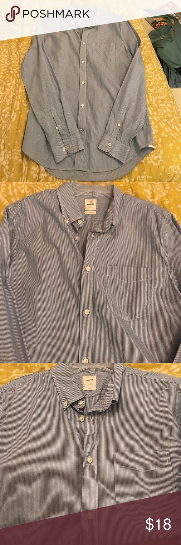 Gap men's casual shirt Shirt GAP Shirts Casual Button Down Shirts