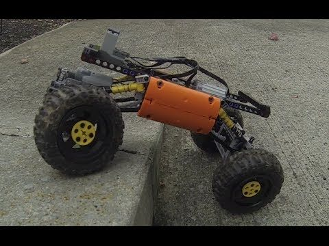 4-Link Universal Rock Crawler Chassis – mechnable.com
