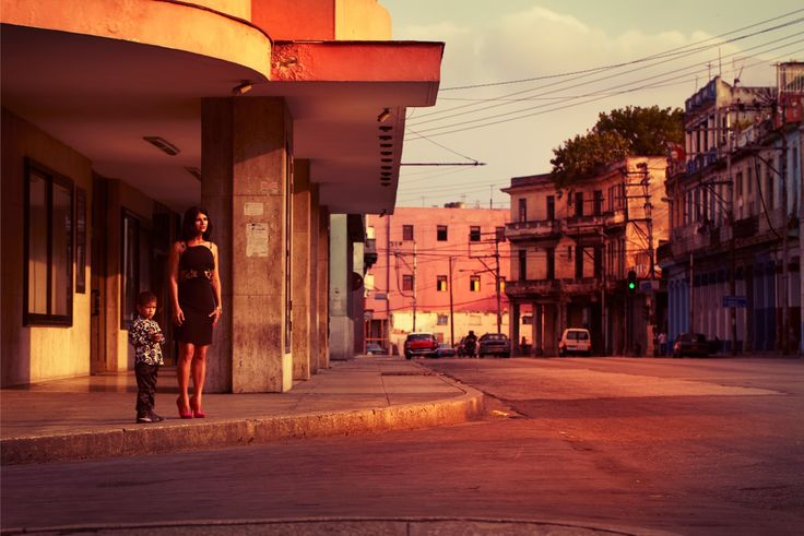 Havana at dusk by Alice Hawkins. -   My best summer photograph: sand, scorpions and sausage sarnies | Art and design | The Guardian