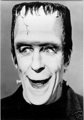 fred gwynne as herman munster    LeRoy's Pink Fist -- Pennsylvania: Herman Munster