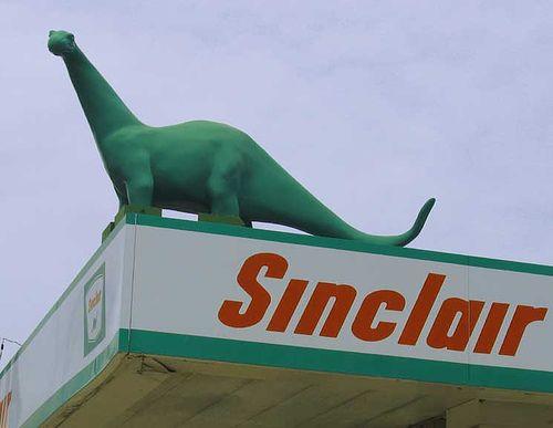 Sinclair the dinosaur