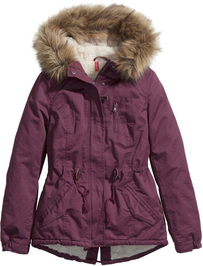 Burgundy Parka Jacket - My Jacket