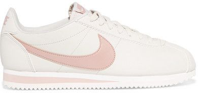 Nike - Classic Cortez Leather Sneakers - Beige #nikes #size11shoes  #affiliatelink