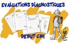 Pour compléter notre éventail d' évaluations diagnostiques pour le cycle 3 voici celles pour le CM1 proposées par Mariette et Céline (grand merci !) Voici des évaluations diagnostiques pour l…