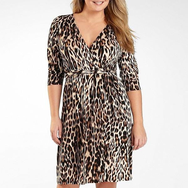 47 best Plus Size Leopard Print Dress images on Pinterest
