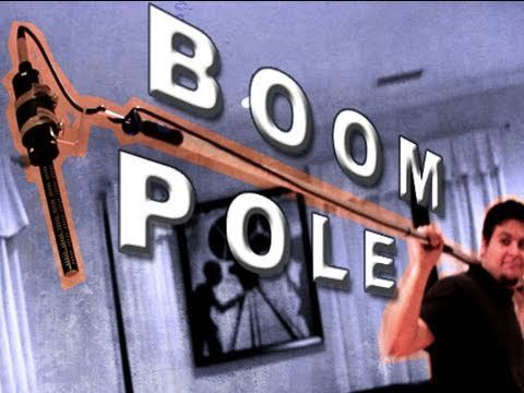 Spider Mounted Boom Pole : DIY - YouTube