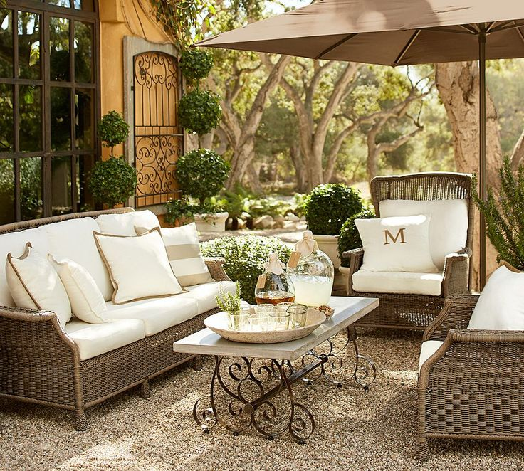 How to Take Care of Wicker Outdoor Furniture     Pottery Barn Blog