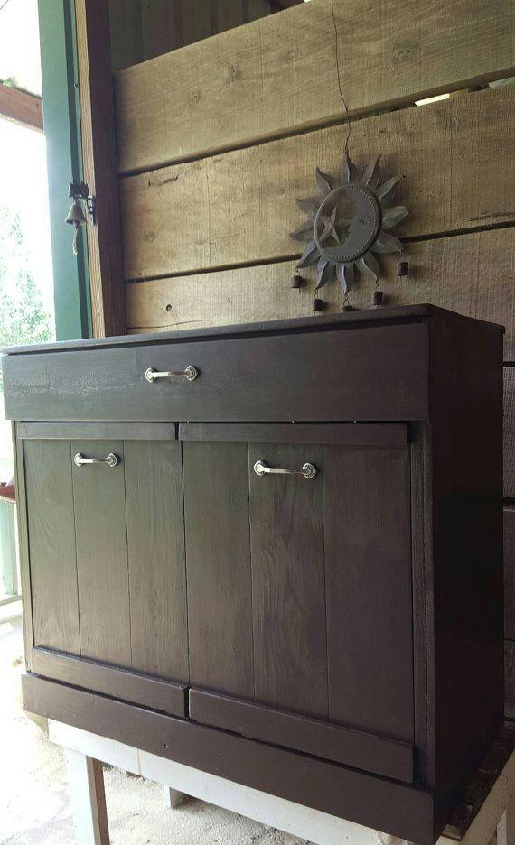 Check out this item in my Etsy shop https://www.etsy.com/listing/474646073/tilt-out-trash-bin-kitchen-trash-bin