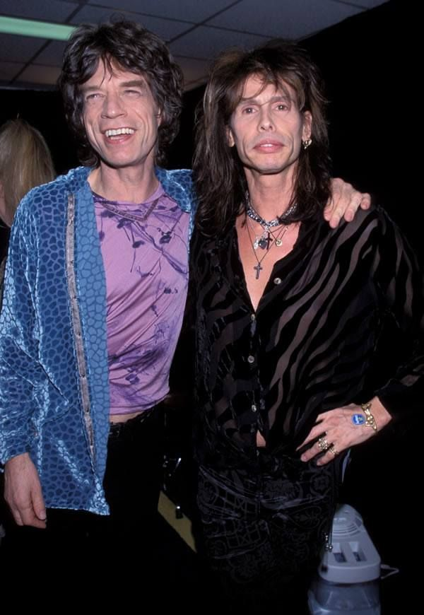 Mick Jagger & Steven Tyler The two best frontmen EVER!