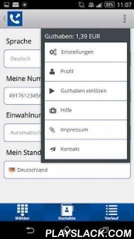CVITA Call  Android App - playslack.com ,  Mit der C.VITA Call App wirklich günstig von Deutschland ins Ausland und vom Ausland nach Deutschland telefonieren: Einfach App kostenfrei herunterladen, registrieren und bis zu 90 % gegenüber Mobilfunk-Tarifen sparen!Die C.VITA Call App ist ein Angebot der C.VITA GmbH. Das mittelständische Familienunternehmen bietet passgenaue Telekommunikations-Lösungen für Unternehmen – von ISDN-Festnetz, DSL-Internet und Mobilfunk-Tarife bis hin zu individuellen…