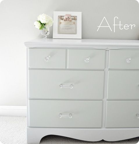 How to paint thrifted furniture. Probably one of the best tutorials I've read. A little spendy- but once you buy the right product it will go a long way.