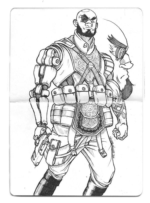 Cristian Sánchez Reus: Doodle (3) Merc 1