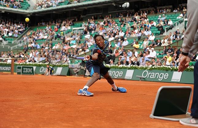 Chaud le 1er Tour avec la victoire in extremis de Gaël Monfils sur Berdych - Roland Garros 2013