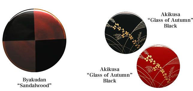 "Byakudan""Sandalwood""Akikusa""Glass of Autumn"" lacquerware jewelry case lid Visit japan-marche.com to find traditional and designed, quality Japanese items to add to your home decor and interior."