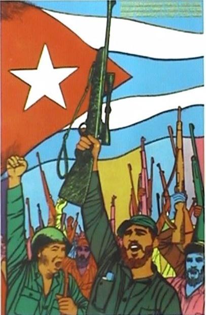 Triunfo revolución cubana.