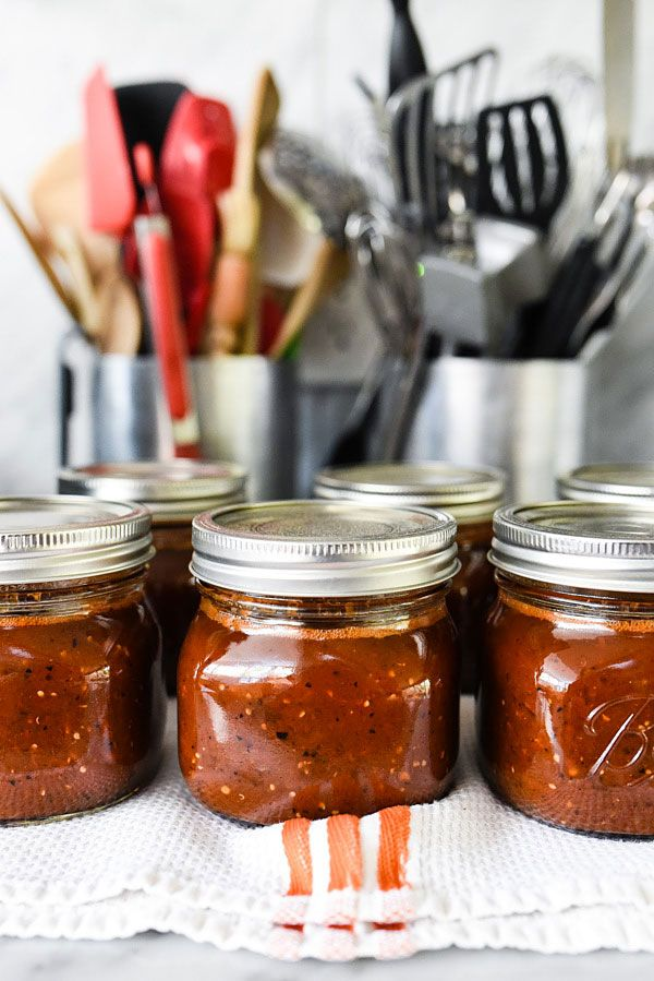 Smoky Roasted Salsa with Not Your Mama's Canning Book - foodiecrush