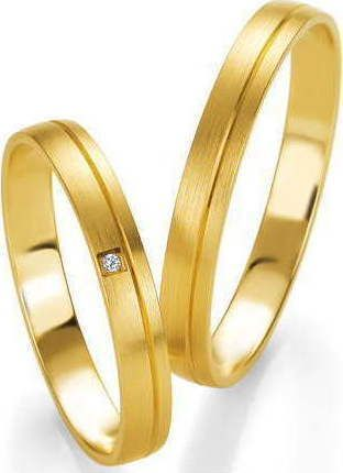Verorama βέρες γάμου χρυσές 005-006