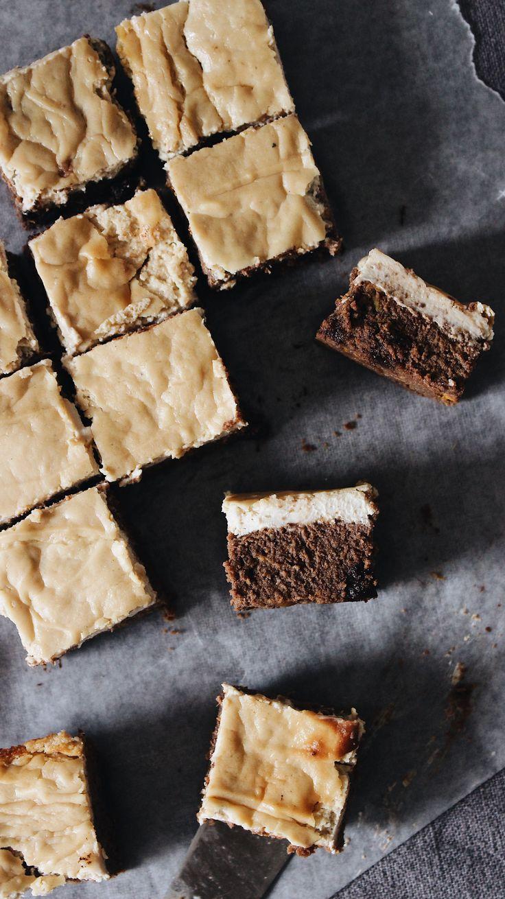 Cheesecake brownies (paleo)
