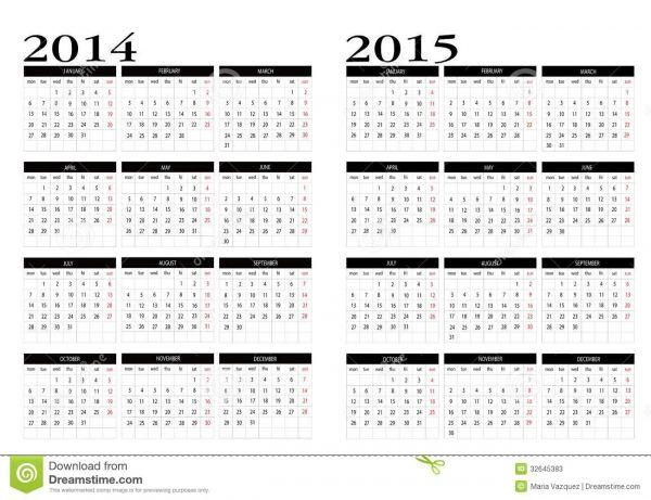 Chase Freedom Calendar 2015