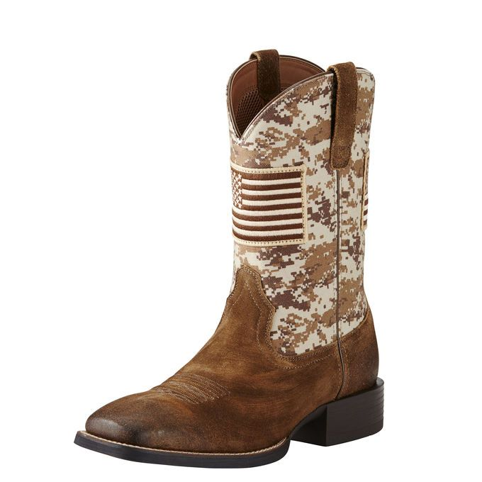 2ae36560fe9 Sport Patriot Western Boot | Bo's Boots | Camo boots, Western boots ...