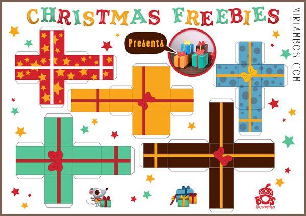 Freebies – Christmas Paperdolls | Miriam Bos – illustration ...
