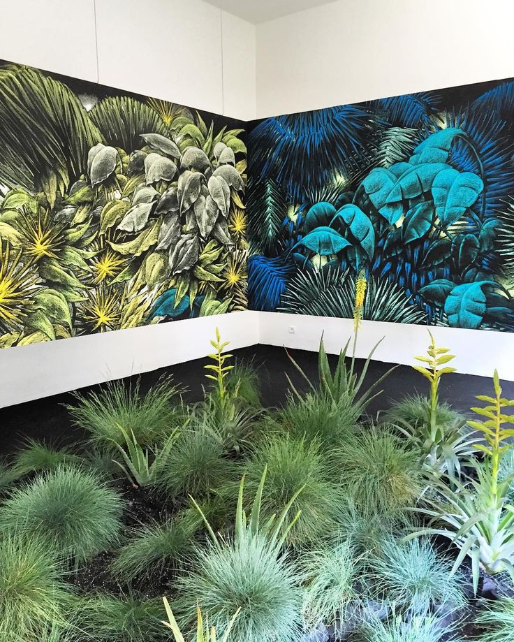 Obsessing over this beautiful installation from Julien Colombier... Great inspiration for summer print and colour  Spotted at Hyeres International Festival of Fashion & Photography by womenswear editors @laura_wgsn and @robertwgsinclair83 by wgsn
