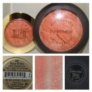 Cruelty free dupe - Milani instead of MAC Stereo Rose Dupe (not sure where this came from - but I'm sharing!)