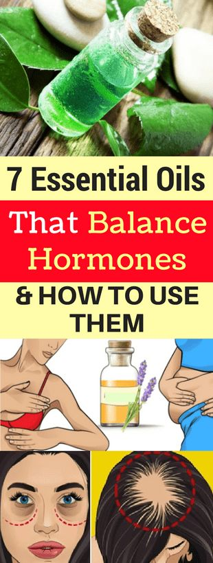 7 ESSENTIAL OILS THAT BALANCE HORMONES & HOW TO USE THEM -