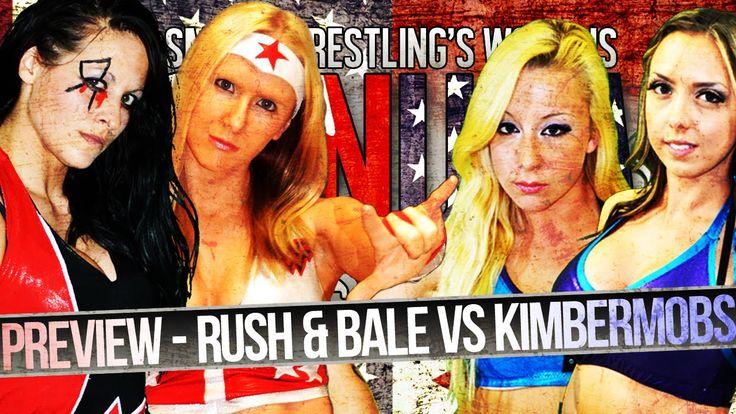 Smash Wrestling - SmashTV [Free Match] Courtney Rush & Xandra Bale vs Ki...