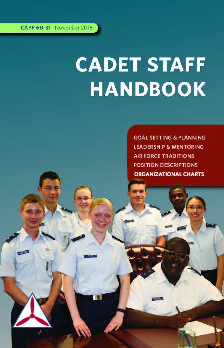 CAPP 6031 Cadet Staff Handbook Civil air patrol