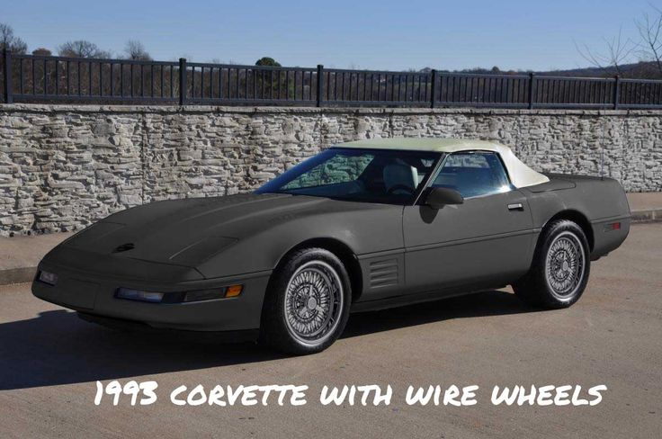 "A similar looking possible alternative to an expensive 1973 Ferrari Daytona or replica, 1993 Corvette with wire wheels. The post 2002 Dodge Vipers are better made but can't use wire wheels because their wheels are staggered (18"" and 19"", no 19"" wire wheels)."